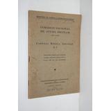 Cartilla Medica Escolar N°1 Nociones Sobre Enfermedades 1940