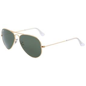 Ray Ban Rb 3025 Aviador - Óculos De Sol W3234 - Lente 5,5 Cm