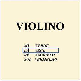 Corda Avulsa Lá Mauro Calixto Para Violino 4/4 Frete R$6,00