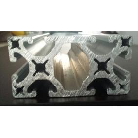 Perfil Aluminio Estructural 40x80