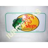 Placa Color Blanca 100% Original Bass Pro Shops Iupiventas
