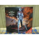 Michael Jackson - Video Greatest Hits History. 01 Laserdisc
