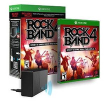 Rock Band 4 Bundle Con El Adaptador Del Regulador Del Juego