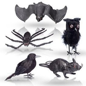 Halloween De La Decoración Del Hogar De 5 Piezas Set - 1 Neg