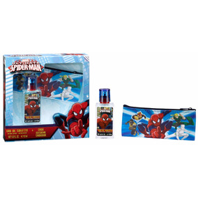 Perfume Spiderman 30ml Con Cartuchera
