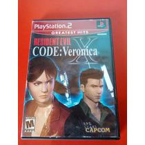 Resident Evil Code: Veronica X Ps2 + Envío Gratis