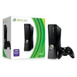 Xbox 360 S 4 Gb Matte Black (ntsc) Envio Gratis!! Ptyimport