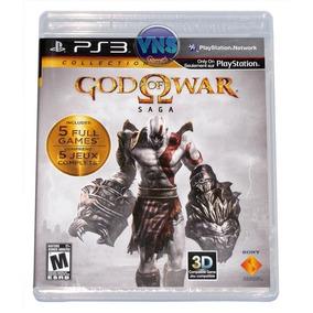 God Of War Saga Collection - 5 Jogos Completos - Lacrado!