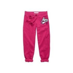 Pantalon Mono Rosado Capri Talla Xs Areopostale Original!!!