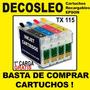 Cartuchos Recargables Epson Tx 115 La Primera Carga Gratis