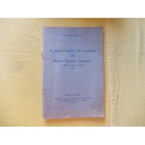 Fuente Temática, Himno Nacional 1953