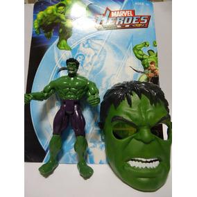 Hulk Mais Mascara Boneco Grande 25 Cm