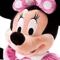 Minnie Rosa 50 Cm - Pelúcia Original Disney No Brasil