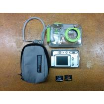 Camara Carcasa Sumerjible 3 Mts Fujifilm 5mp Zoom Optico 3x