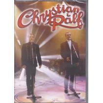 Dvd Chrystian E Ralf - Acústico (dvd Original E Lacrado)
