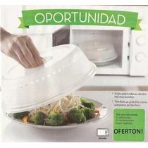 Tapa Para Microondas Universal - Plastico Resistente Exc!!!!