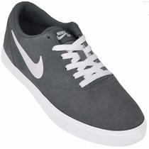 Zapatillas Nike Sb Check Gamuza Skate Ultimo Par
