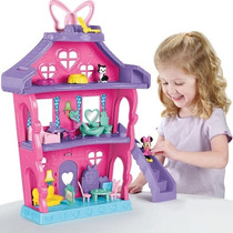 Casa De Minnie 4 Pisos Little People Fisher Price Amueblada!