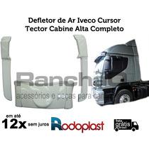 Defletor De Ar Iveco Cursor/tector Cabine Alta Completo