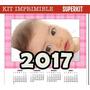 Kit Imprimible Calendarios 2017 Almanaques, Cupcakes Y Mas!