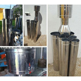 Kit Para Calefactores Calefactor Chimenas Acero Inoxidable