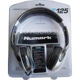 Auricular Numark Hf 125 Dj Cerrado Audio Profesional Blister