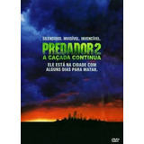 Dvd Predador 2 A Caçada Continua Lacrado