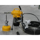 Maquina Destapa Cañerias Electrica P/ Caños Hasta 4 Pulgadas