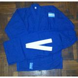 Judogi Samurai-ie Gabardina 8oz Azul Talles De 140 A 190cm