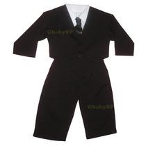 Conjunto Social Infantil Bebê Com Casaquinho Terno Infantil
