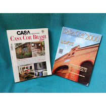 Lote 2 Volumes Casa Cláudia Casa Cor Brasil Lofts 2000