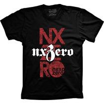 Camisetas Banda Nx Zero Rock Band Nx Blusa Nxzero T-shirt