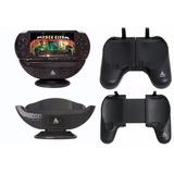 Kit Suporte Grip De Mão + Base Carregadora Para Sony Psp