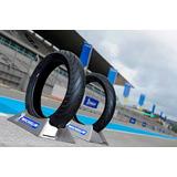 Juego Cubiertas 130-70-17 Y 100-80-17 Michelin Rouser Ns 200
