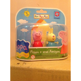 Peppa Pig E Rebecca Da Estrela 06 Cm - Gibiteria Bonellihq