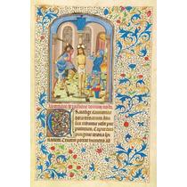Lienzo Tela Manuscritos Iluminados La Flagelación Arte Sacro