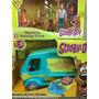 Turma Scooby Doo 5 Bonecos Articulado + Van Mystery Machine