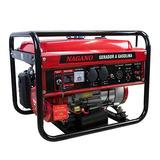 Gerador À Gasolina 3 Kva Monofásico Partida Elétrica Bivolt