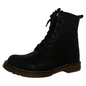 Botas Dama Botas De Agujetas Zapatos Dama Botas Negras