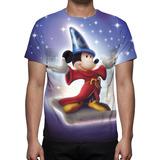Camisa, Camiseta Disney Mickey Mouse - Estampa Total