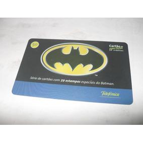 Cartão Telefônico Com Símbolo De Batman