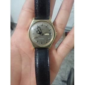 Reloj Bulova Caballero Chapa En Oro