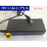 Cargador Adaptador Gateway Ze7 19v 3.16a 70w 1.7mm * 5.5mm