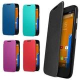 Funda Flip Cover Motorola Moto G Estuche Tapa Xt1031 + Film