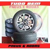 Rodas Onix Ltz 2016 Original +pneus 185/65/15 12x Sem Juros