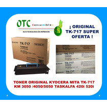 Kit Toner Original Kyocera Mita Tk-717 Km3050 4050 5050 420i