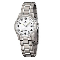 Caja De Titanio Reloj De Festina Classic Titanio Mujeres O