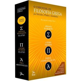 Box O Essencial Da Filosofia Socrates Platao Frete 10