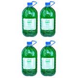 4 Unidades Shampoo Ervas Lánoly Galão 5 Litros - Frete Único