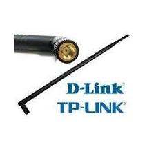 Antena Omni 5dbi Rp Sma Para Roteador Tp-link Ou D-link